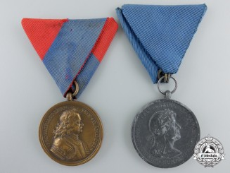 Two Hungarian Medals and Awards