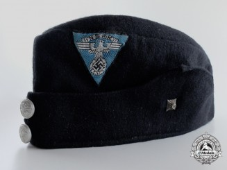 An NSKK Enlisted Man's Side Cap for a Driver by Hersteller