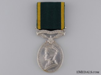 Efficiency Medal to the Royal Signals