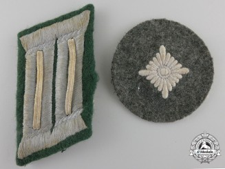 Two Second War German Insignia
