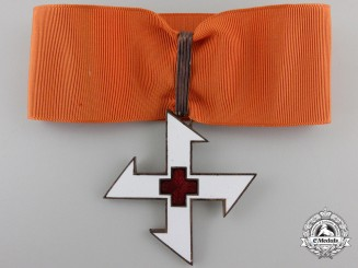 A Romanian Order of the Cross of Queen Marie; 1st Class