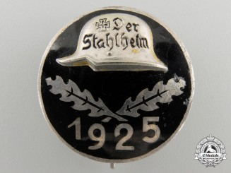 A 1925 Stahlhelm Membership Badge
