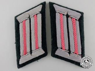A Pair of Army Armored Units Officer's Collar Tabs