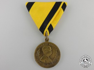 An 1888 Croatian Army Maneuvers Commemorative Medal