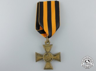 An Imperial Russian St. George Cross; Second Class