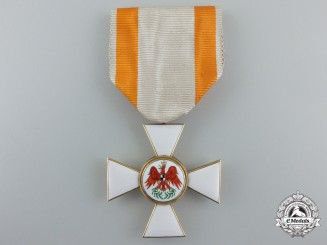 A Prussian Order of Red Eagle; Third Class in Gold by S.F.S.