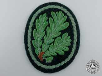 A Second War German Jager Regiment Cloth Patch