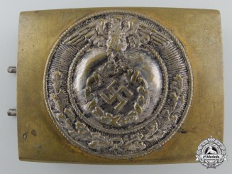 An SA Enlisted Belt Buckle; Published Example