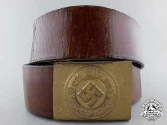 A German Water Protection Police Belt Buckle by Richard Simm & Söhne