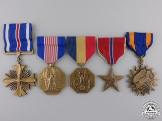 Five American Gallantry and Bravery Awards