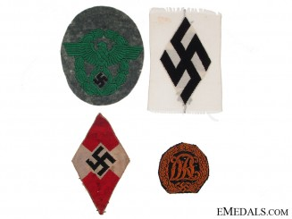 Four German Cloth Items