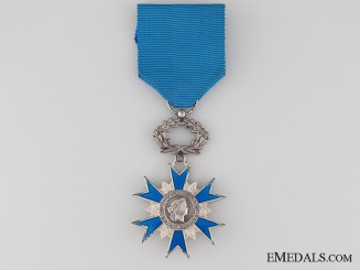 French National Order of Merit 1963, Knight