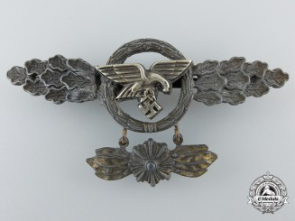 A Gold Grade Squadron Clasp for Transport Pilots with Star Hanger