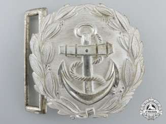 A Kriegsmarine Administrative Officer's Buckle; Published Example
