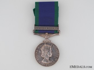 General Service Medal 1962 to Marine S.A. Hutton