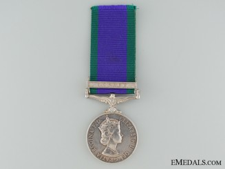 General Service Medals 1962-2007 to the 7th Gurkha Rifles