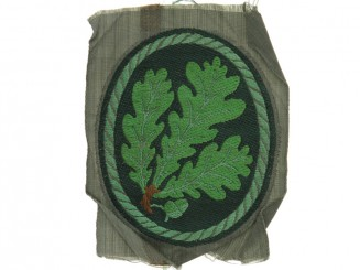 Jager Regiment Cloth Patch.