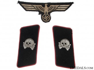 Panzer Tabs and Eagle