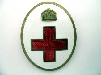RED CROSS BADGE