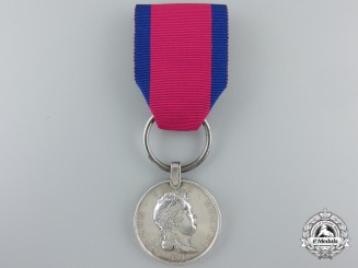 An 1815 Hannover Waterloo Medal  to the Grenadier Bat. Verden