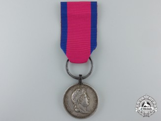 An 1815 Hannover Waterloo Medal to the Lauenburg Battalion