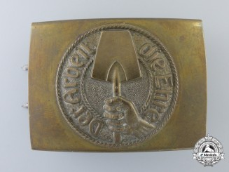 A Volunteer Labor Service (Freiwillige Arbeitsdienst - FAD) Buckle; Published Example