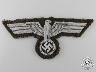 An Army/Heer Breast Tropical Insignia; Tunic Removed