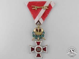 An Austrian Order of Leopold; Knight's Cross by Rothe
