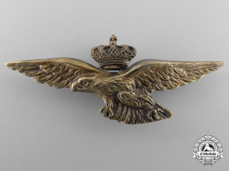 An Italian Kingdom Pilot Badge 1923-1935