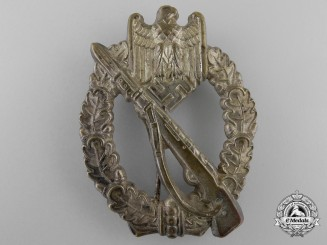 An Early Silver Grade Infantry Badge