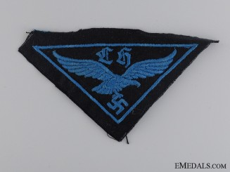 HJ Flak Helper's Cloth Badge
