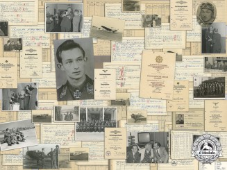 The Award Documents, Flight Books, and Personal Photographs of Luftwaffe Ace Ulrich Wernitz