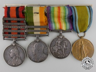 A South Africa & First War Group to the Imperial Yeomanry