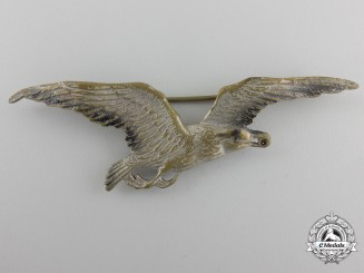 A 1920 Issue Latvian Air Force Aircrew Badge; 2nd Class for a Military Air Dispatcher