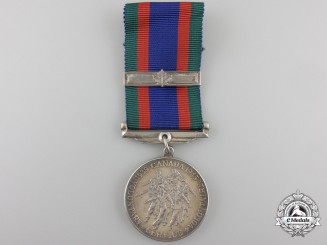 A Second War Canadian Volunteer Service Medal with Clasp