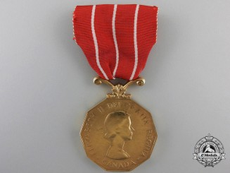 A Canadian Forces' Decoration to Sergeant A.R. Goodhue