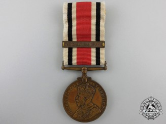 A Special Constabulary Long Service Medal with Great War Bar