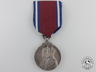 A 1935 George V and Queen Mary Silver Jubilee Medal