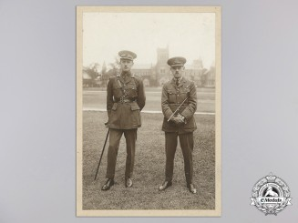 A First War Royal Flying Corps Pilot and Observer Group Photograph