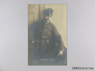 Imperial German Observer's Photograph; Oberleutnant Gerlich