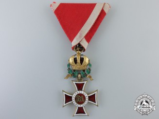 An Austrian Order of Leopold; Knight