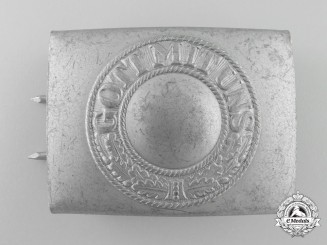 A Post-War Service German Army Enlisted Man's Belt Buckle
