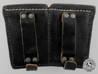 An Army (Heer) Two-Pocket Ammunition Pouch