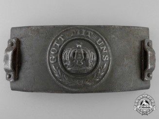 A First War German Army (Heer) Telegrapher's Belt Buckle