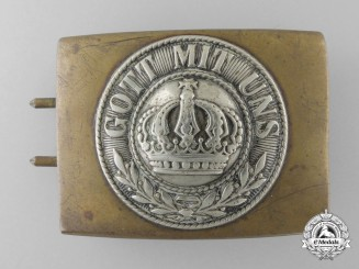 A First War Prussian Army Belt Buckle