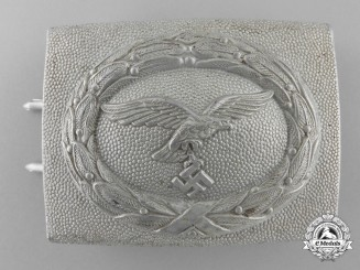 A Luftwaffe Two Piece Enlisted/NCO's Belt Buckle