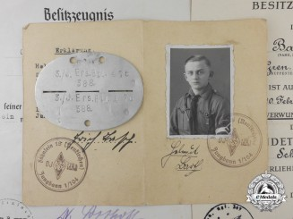 A Group of Award Documents, ID, Photographs to Oberfeldwebel, 1./Grenad.Rgt.267