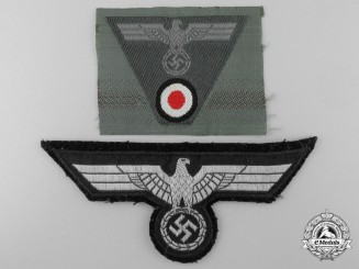 Two Heer/Army Insignia
