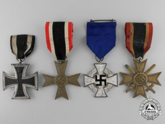 Four Second War German Medals & Awards