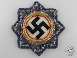 A Luftwaffe German Cross in Gold from Fighter Ace Rolf Hermichen; 64 Aerial Victories